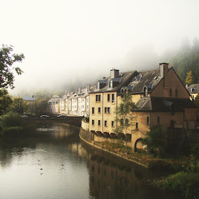 Foggy Luxembourg by Ioana Laura - Buildings & Architecture Other Exteriors