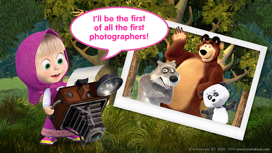 Free Download Masha and the Bear Child Games APK for Samsung