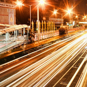 Rush Hour by Vincentius Dedy Angsana - City,  Street & Park  Street Scenes ( traffic, street, night )
