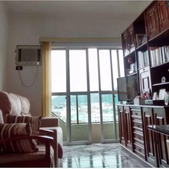 Apartamento com 1 dormitório à venda, 56 m² por R$ 244.000 - Centro - São Vicente/SP