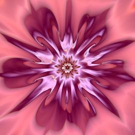 by Cassy 67 - Illustration Abstract & Patterns ( abstract, abstract art, wallpaper, digital art, flowers, fractal, digital, fractals, flower )