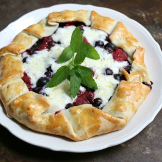 Mascarpone Pie Berries Recipes