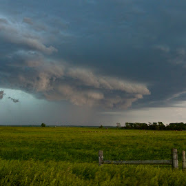 Storm over the Prairie  by Robert Remacle - Landscapes Prairies, Meadows & Fields