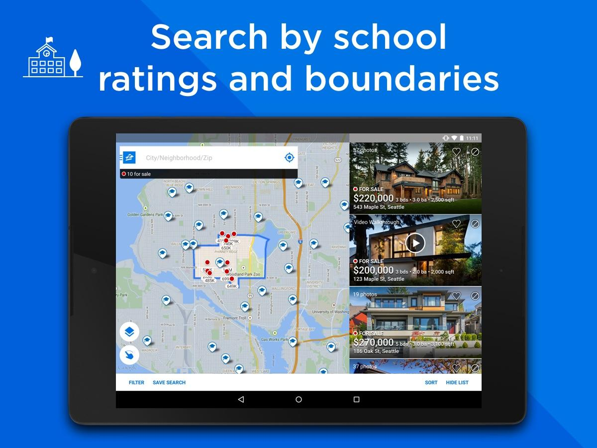 Real Estate & Rentals - Zillow Screenshot 7