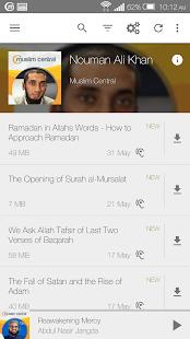 Multi Speaker Islamic Audio- screenshot thumbnail