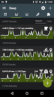 Screenshot of Sleep as Android