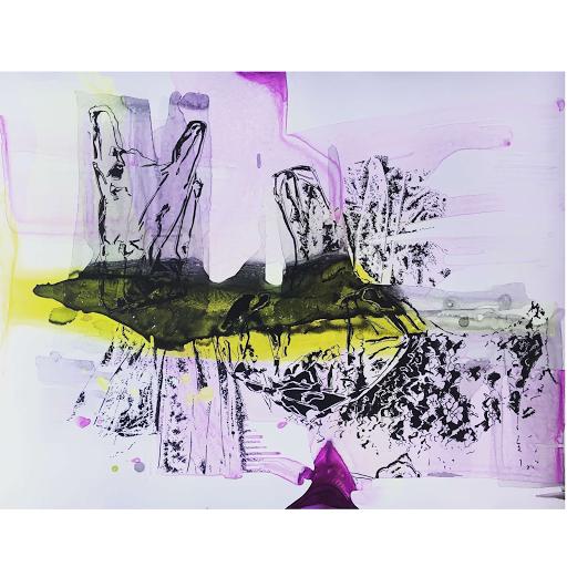 Joana Fischer, Plastiklandschaft I - Plastic landscape I