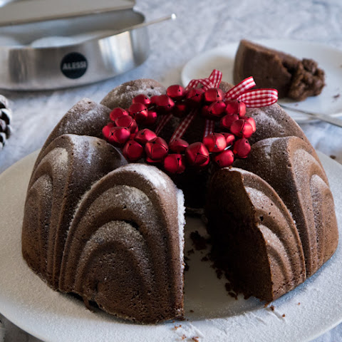 German Mulled Wine Cake for Christmas