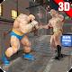 Superhero Fighting Kungfu Fight Street Arena