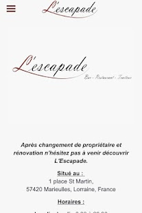 L'escapade - screenshot
