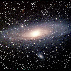 M31 Andromeda Galaxy by Bill Schlosser - Landscapes Starscapes (  )