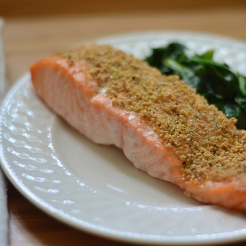 Mustard and Dill Crusted Salmon