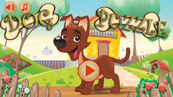 Baby Puzzles Funny Dogs - screenshot