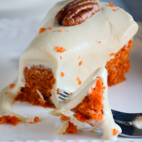Double Decker Carrot Cake [Vegan, Gluten-Free]