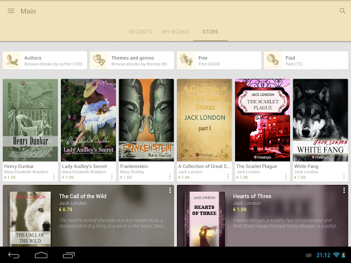 eReader Prestigio: Book Reader screenshot 15