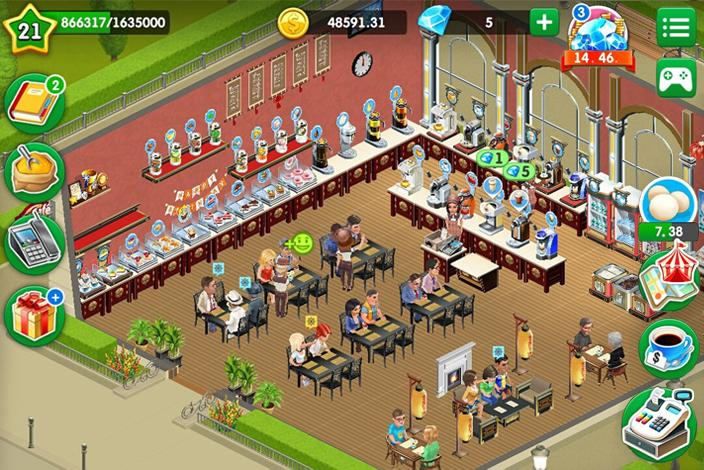 My Cafe: Recipes & Stories - World Cooking Game Screenshot 5
