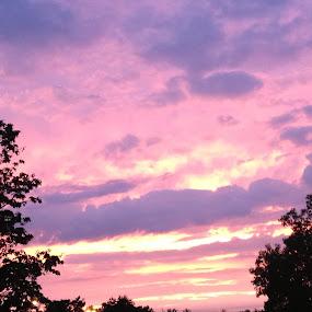 Sunset by Zach Church - Landscapes Sunsets & Sunrises