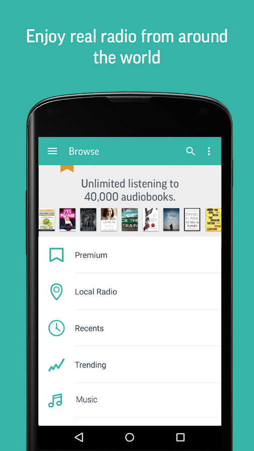 TuneIn Radio Pro - Live Radio Screenshot 3