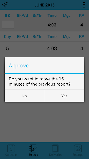 JW Planner - screenshot