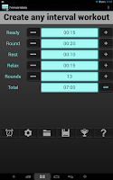 Screenshot of Interval Timer 4 HIIT Training
