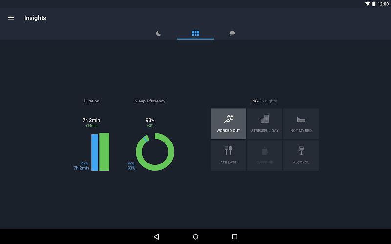 Runtastic Sleep Better: Sleep Cycle & Smart Alarm Screenshot 13