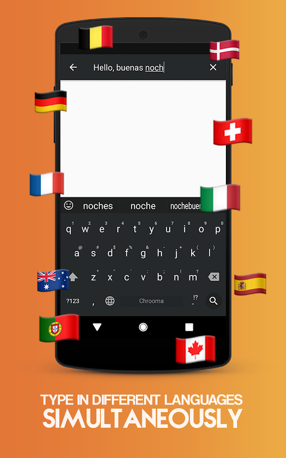 Chrooma GIF Keyboard Screenshot 7