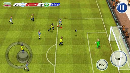Striker Soccer America 2015 - screenshot