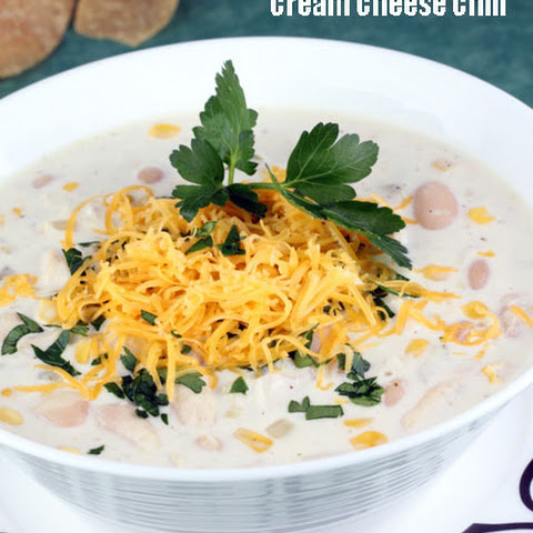 Cream Cheese Chicken Chili