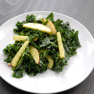 Kale Salad with Honeycrisp Apples and Parmesan