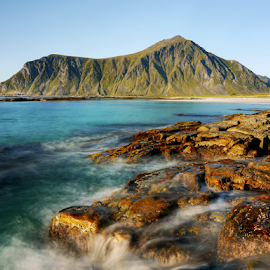 Lofoten by Petr Podroužek - Landscapes Waterscapes ( water, sky, sea, lofoten, norway )