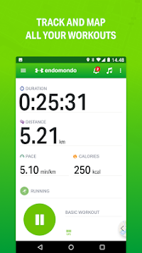 Endomondo - Running & Walking APK screenshot thumbnail 1