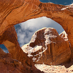 Arches-Double arche by Gérard CHATENET - Landscapes Caves & Formations (  )
