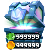 Free Chests && Gems for Clash Royale APK for Windows 8