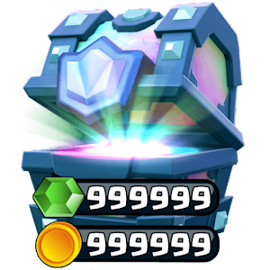 Chests & Gems for Clash Royale Icon