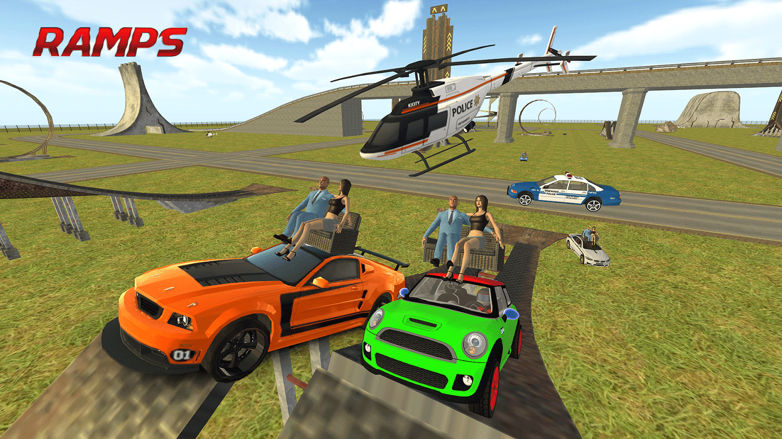 Pick up Girls Mini Auto: Stadt Polizei Chase android spiele download