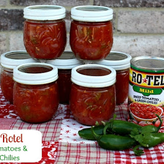 Homemade Rotel Tomatoes Recipes