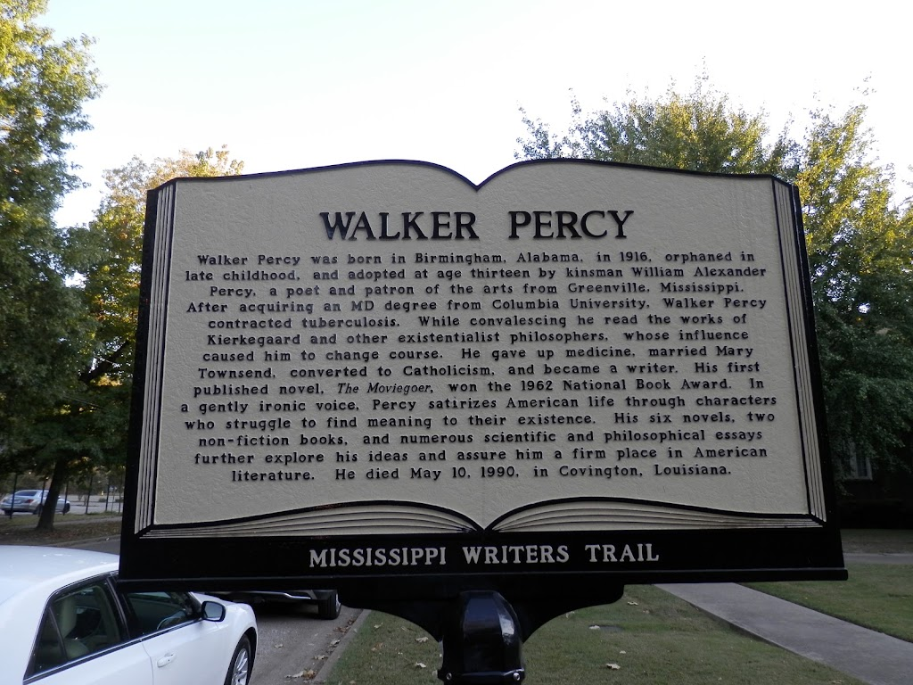 Walker Percy was born in Birmingham, Alabama, in 1916, orphaned in late childhood, and adopted at age thirteen by kinsman William Alexander Percy, a poet and patron of the arts from Greenville, ...