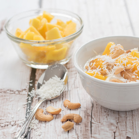 Coconut Mango Yogurt Delight