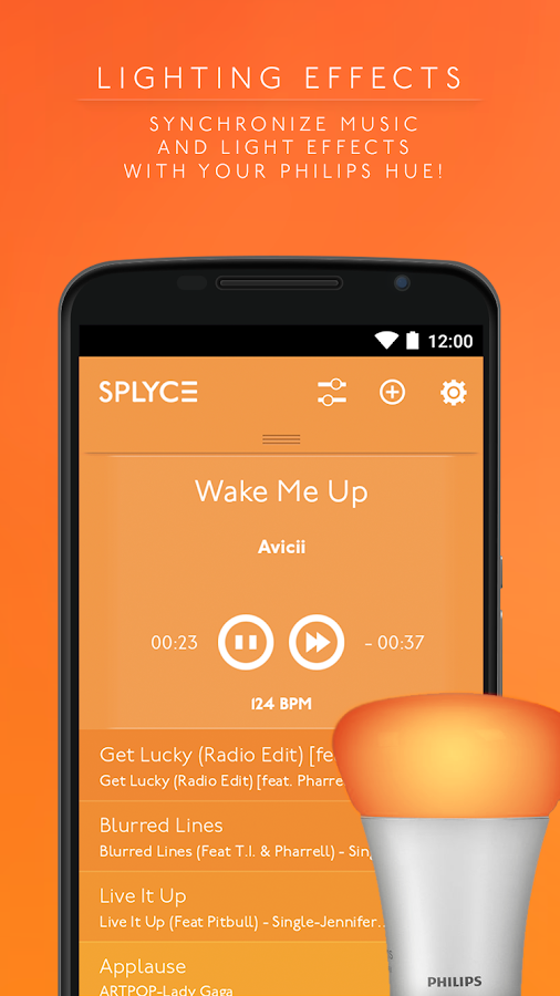 Splyce music player & automix Screenshot 5