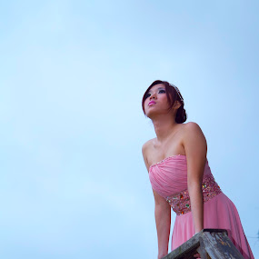 sky by Lucky  Ariya wijaya - People Portraits of Women