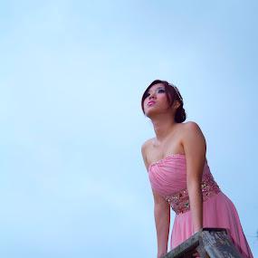 sky by Lucky  Ariya wijaya - People Portraits of Women