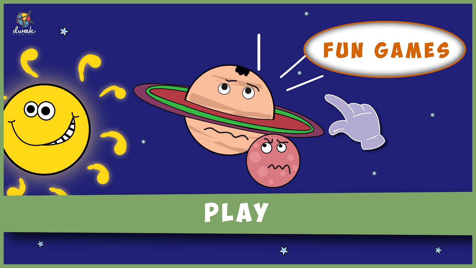 Solar Family - Kids Story Game Screenshot 1