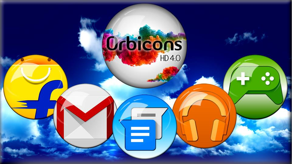 Icon Pack HD Orbicons Screenshot 0