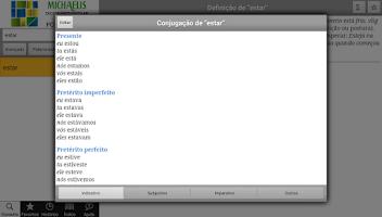 Screenshot of Michaelis Escolar Português