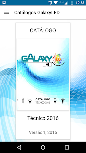 Luxímetro GalaxyLED - screenshot