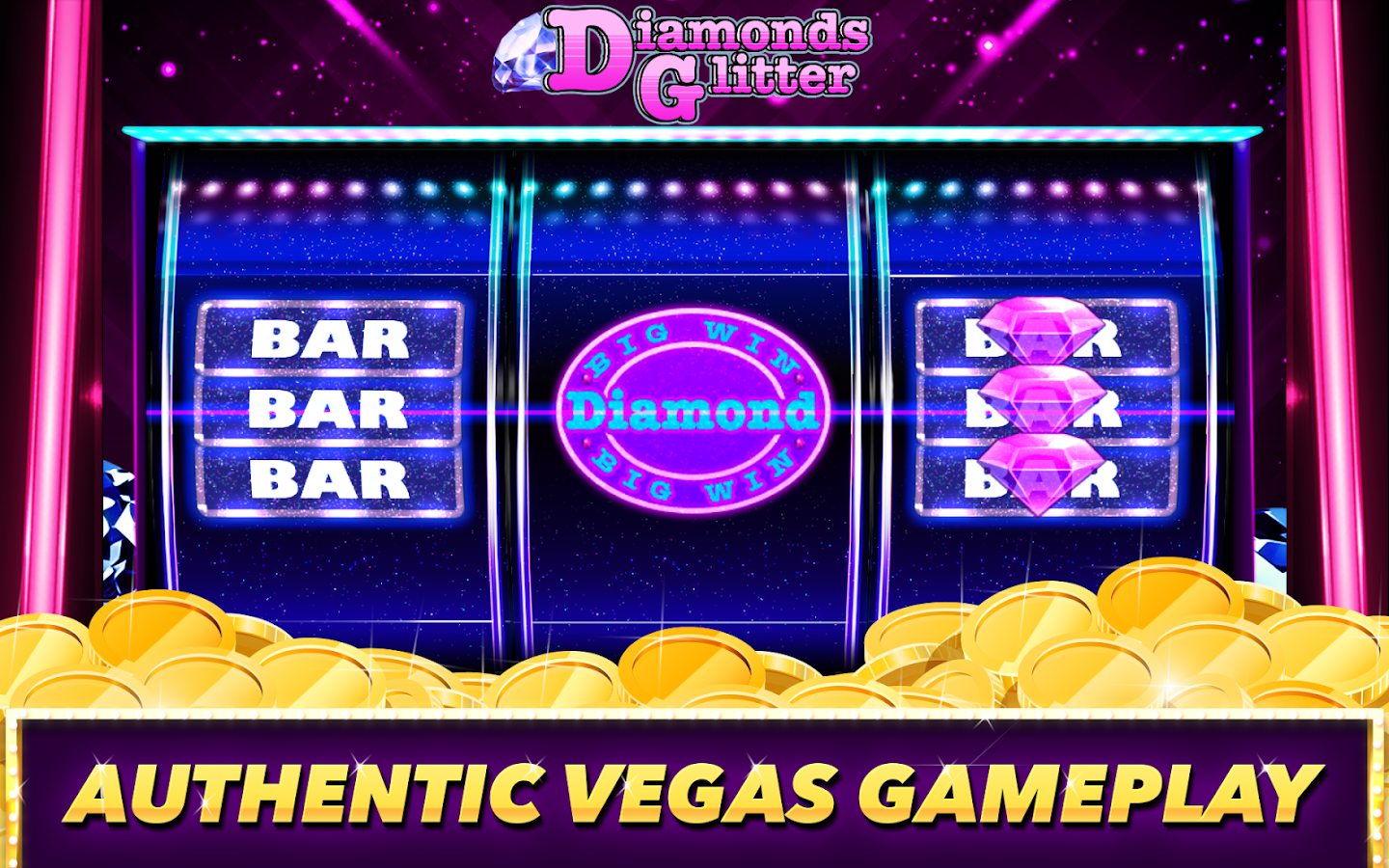 Best Classic Vegas Slots Game Screenshot 1