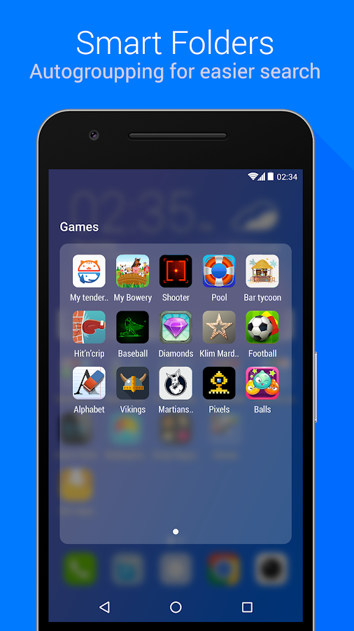 Launcher for Me Screenshot 1