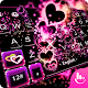 Sparkling Heart Keyboard Theme APK