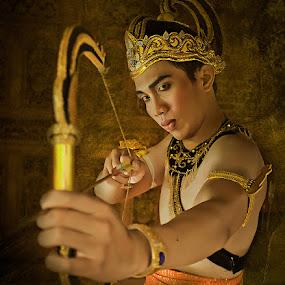 Arjuna by Andy Noer - People Portraits of Men