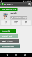 Screenshot of Nutrition Tracker